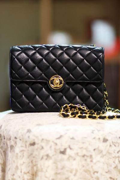 2753ab64c9d3 Vintage Chanel Mini Bag with Authentic card Dust Bag - Mrs Vintage ...